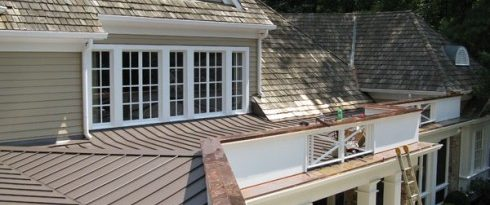 Photo Galleries Metal Roofs Rain Gutters Under Deck Roofs